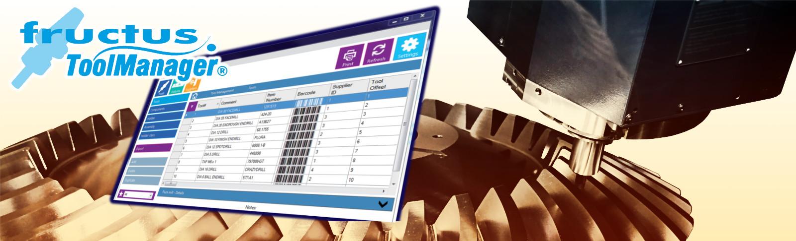 Fructus ToolManager työkalujen hallinta ohjelmisto